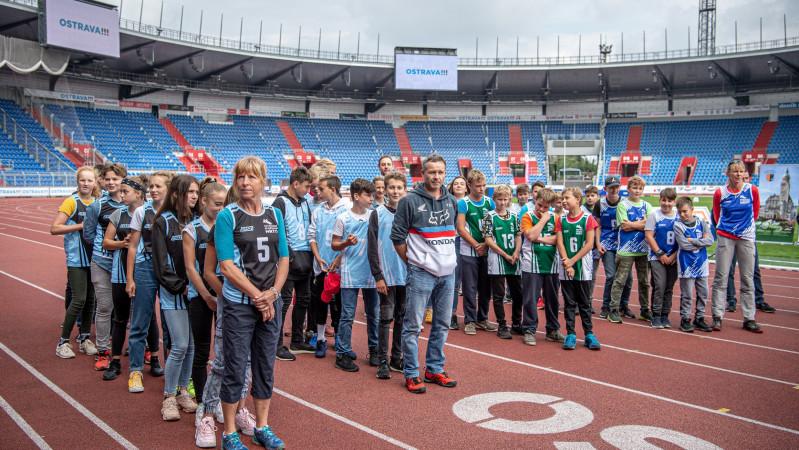 Vyhlášení Ostravských sportovních her